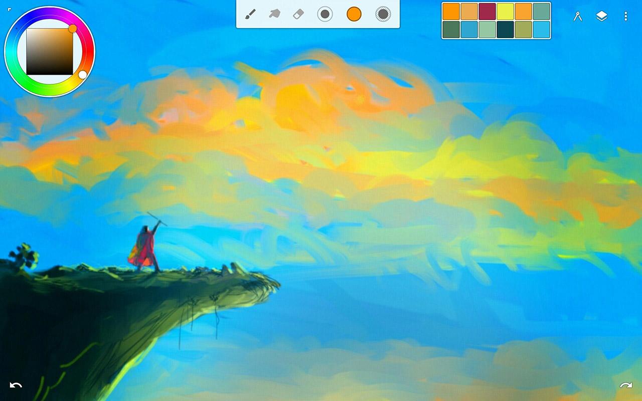 Infinite Painter screen 3