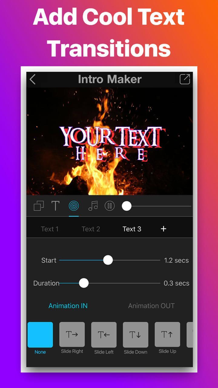 Intro Movie Vlog Trailer Maker screen 0