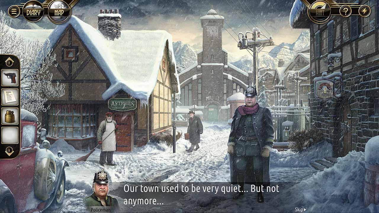 Murder in the Alps screen 3