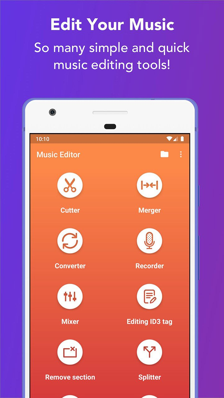 Music Editor screen 0