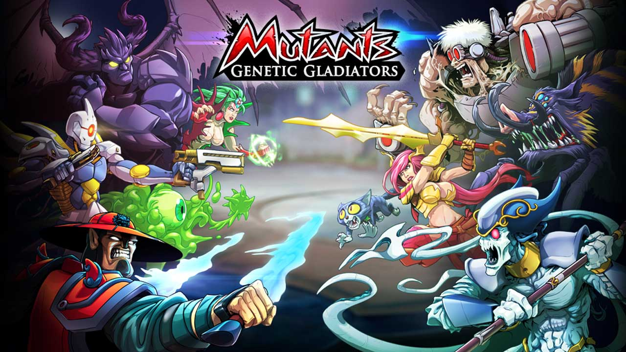 Mutants Genetic Gladiators poster