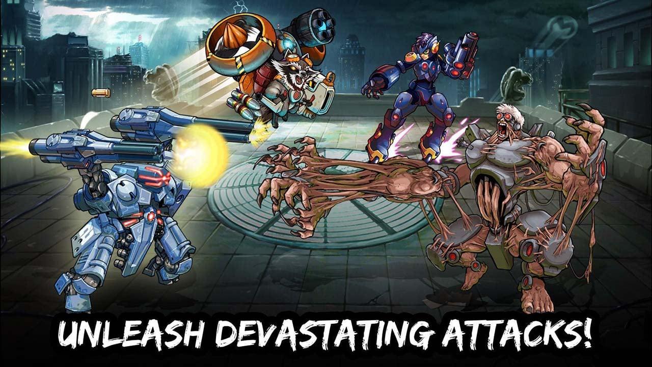 Mutants Genetic Gladiators screen 1