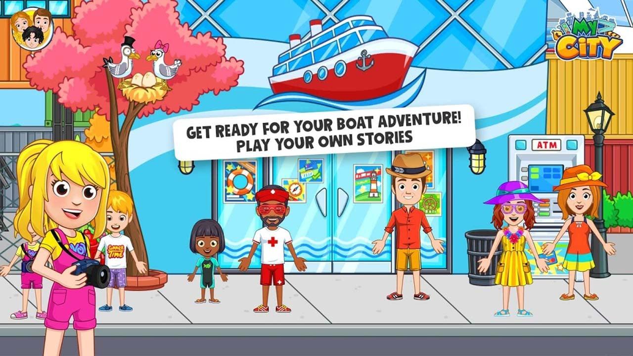 My City Boat adventures screen 1