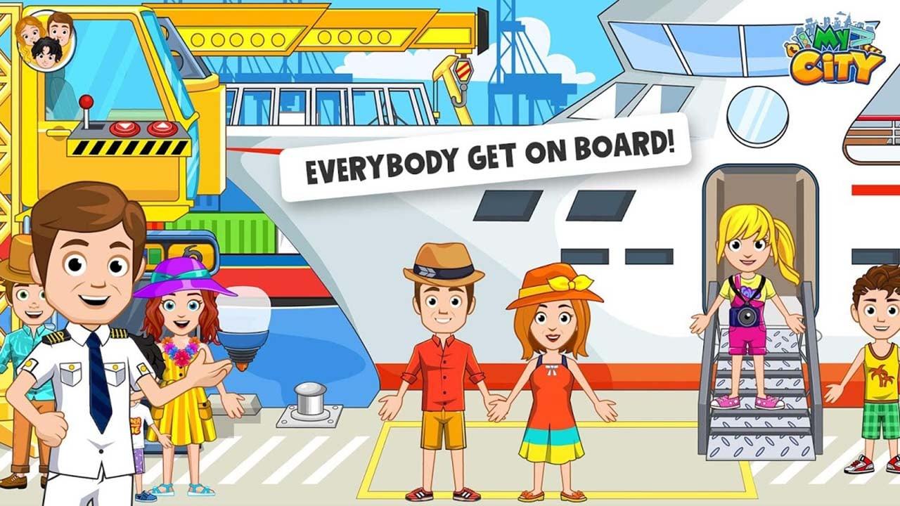 My City Boat adventures screen 2