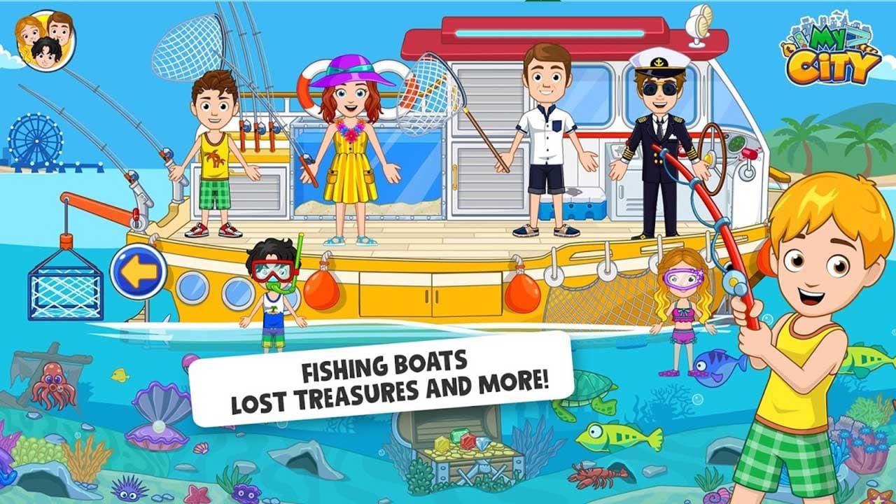 My City Boat adventures screen 4