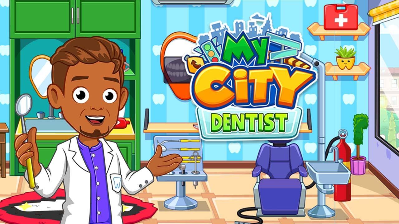 My City Dentist visit poster