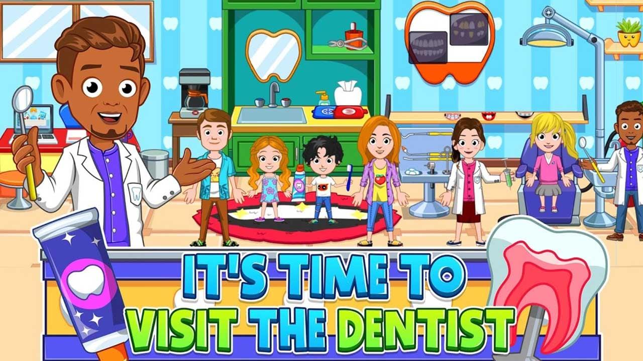 My City Dentist visit screen 2