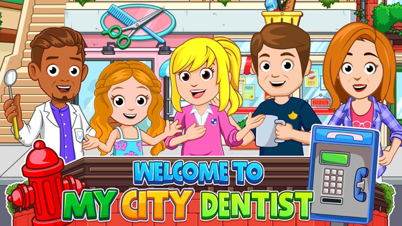 My City Dentist visit screen 4