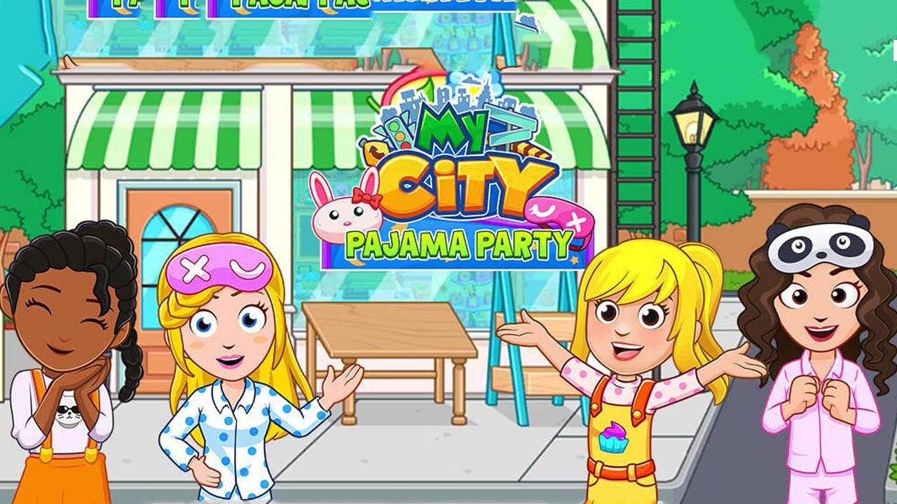 My City Pajama Party poster