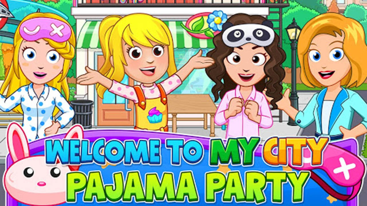 My City Pajama Party poster screen 1