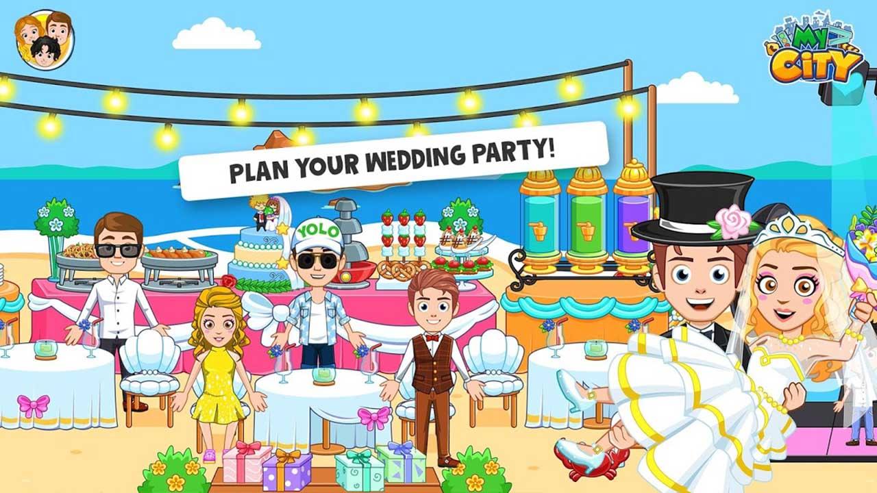 My City Wedding Party screen 3