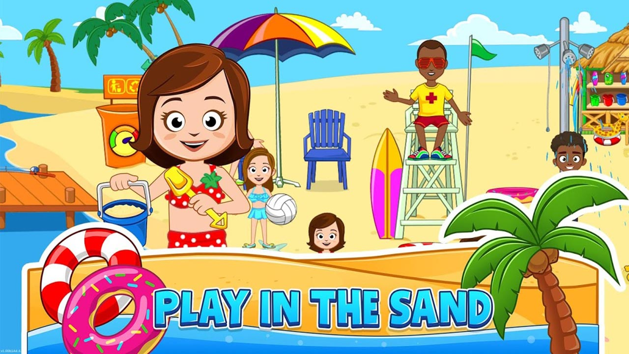 My Town Beach Picnic screen 2