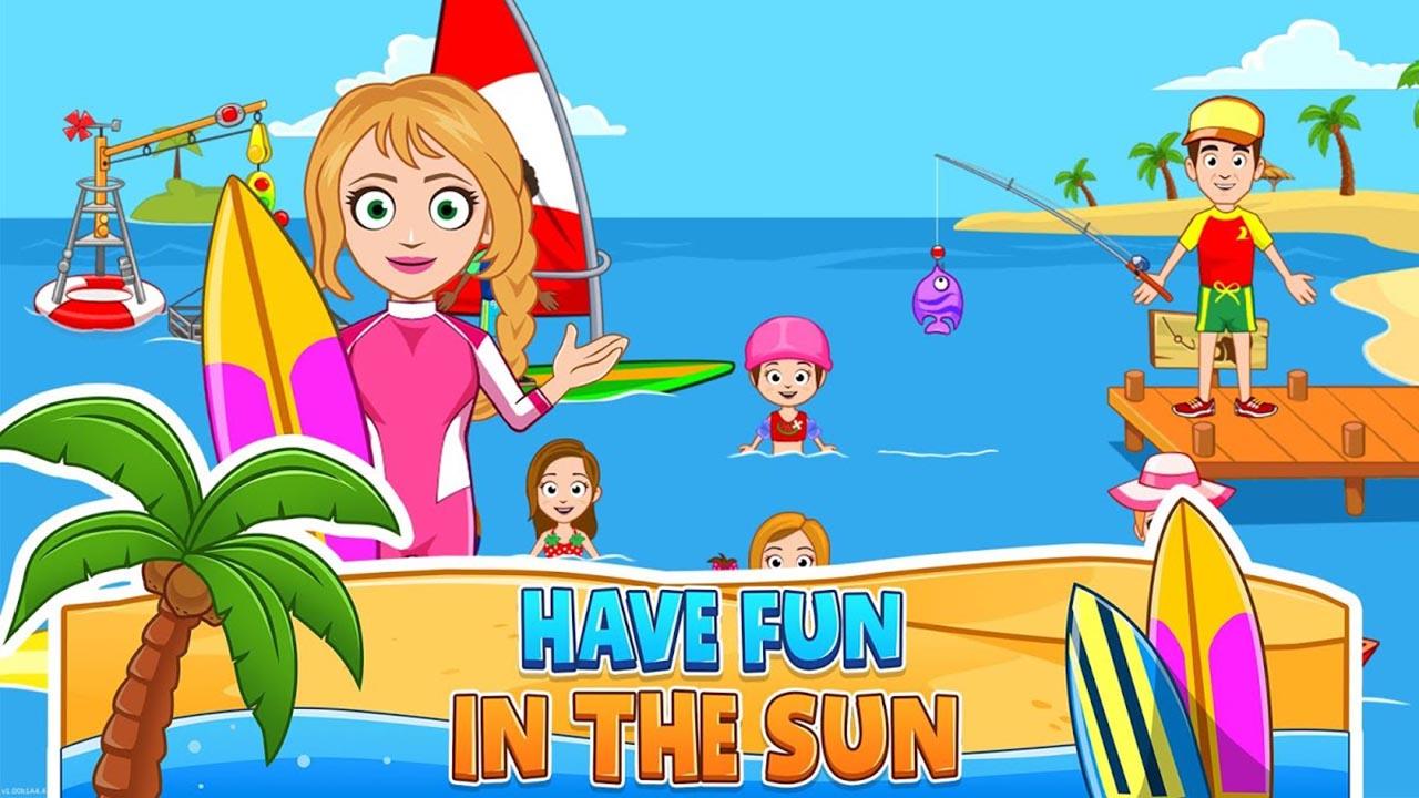 My Town Beach Picnic screen 3