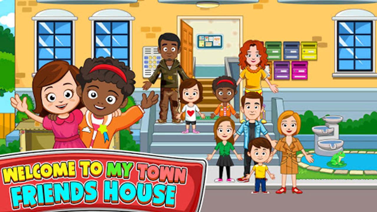 My Town Best Friends House screen 1