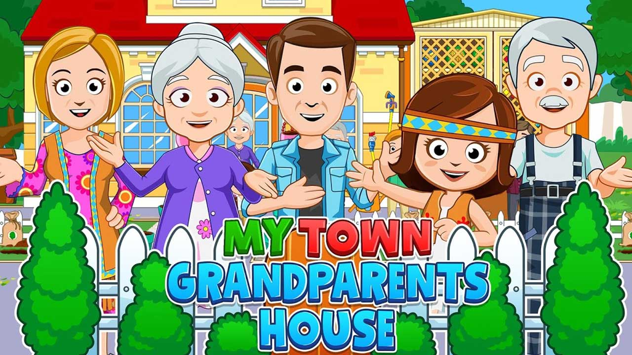 My Town Grandparents poster