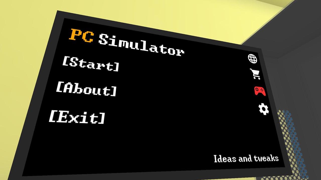 PC Simulator poster
