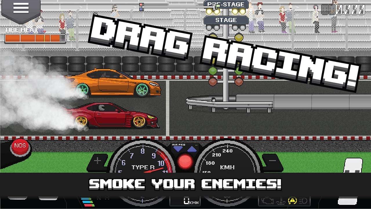 Pixel Car Racer creen 1