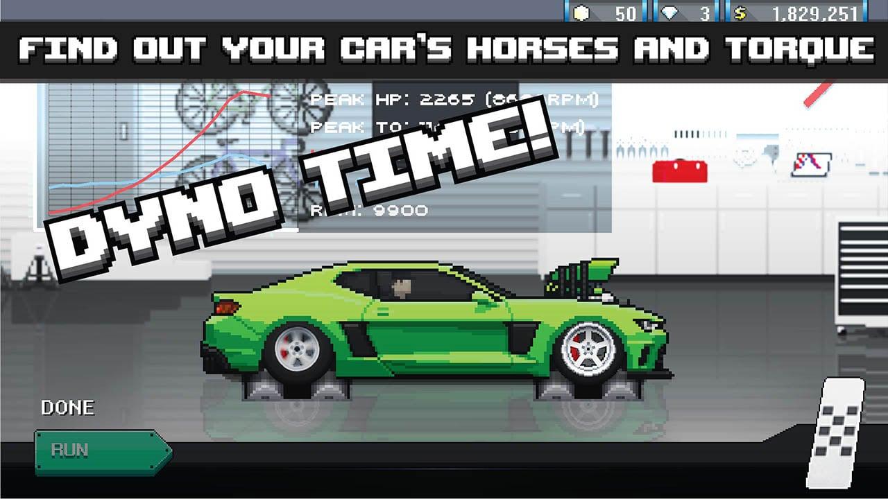 Pixel Car Racer screen 3