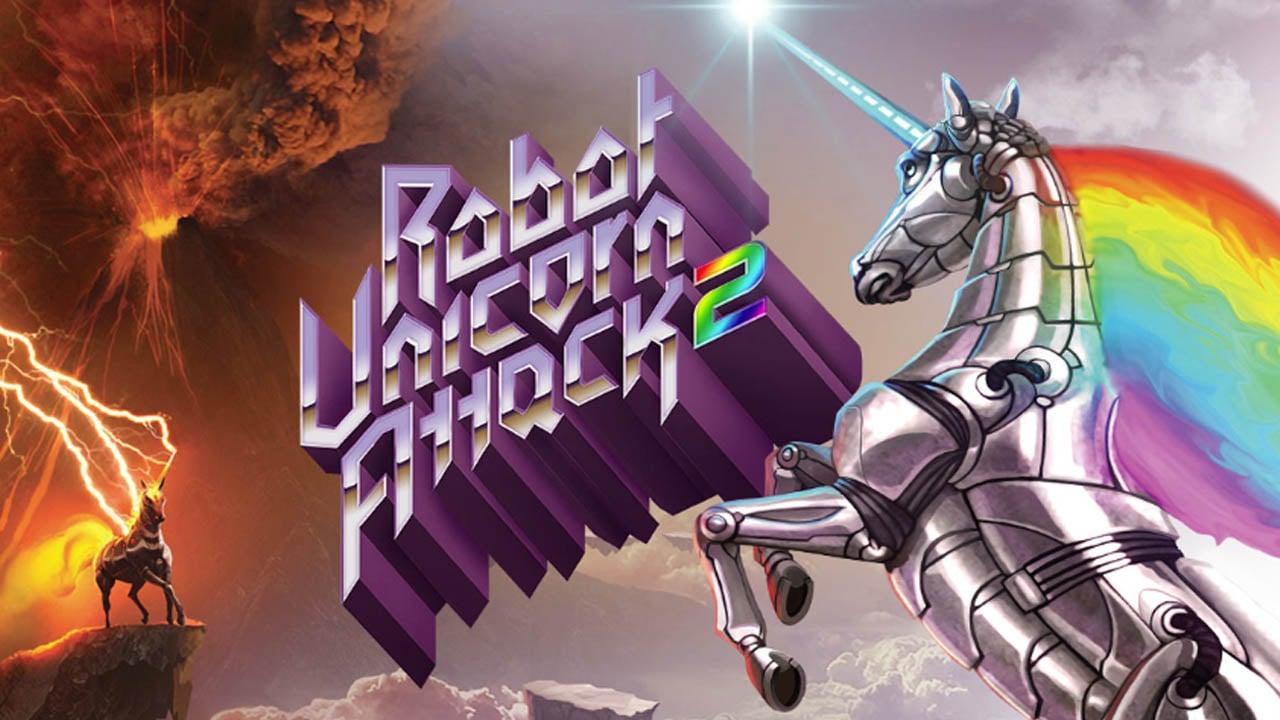 Robot Unicorn Attack poster
