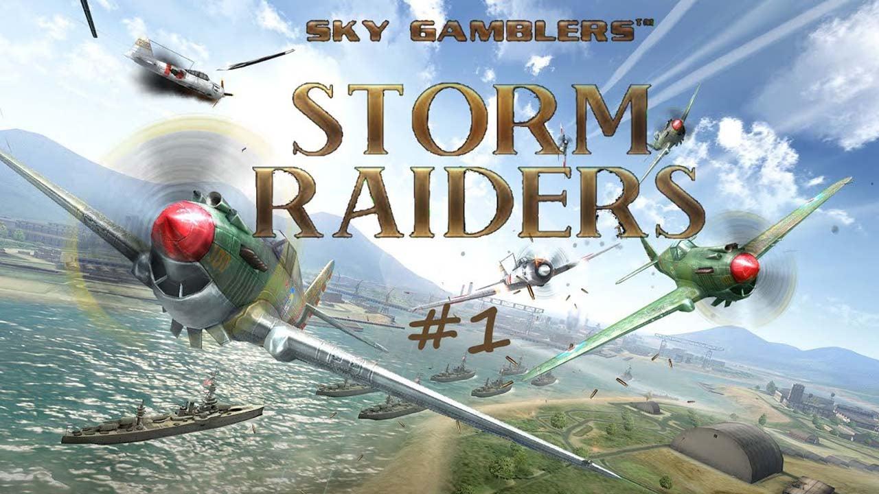 Sky Gamblers Storm Raiders poster