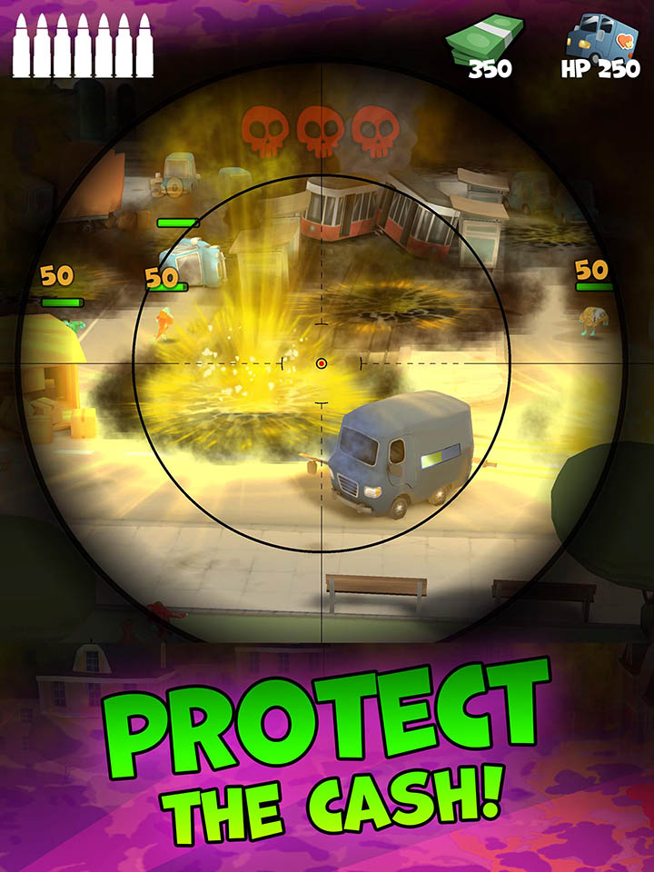 Snipers Vs Thieves Zombies screen 4