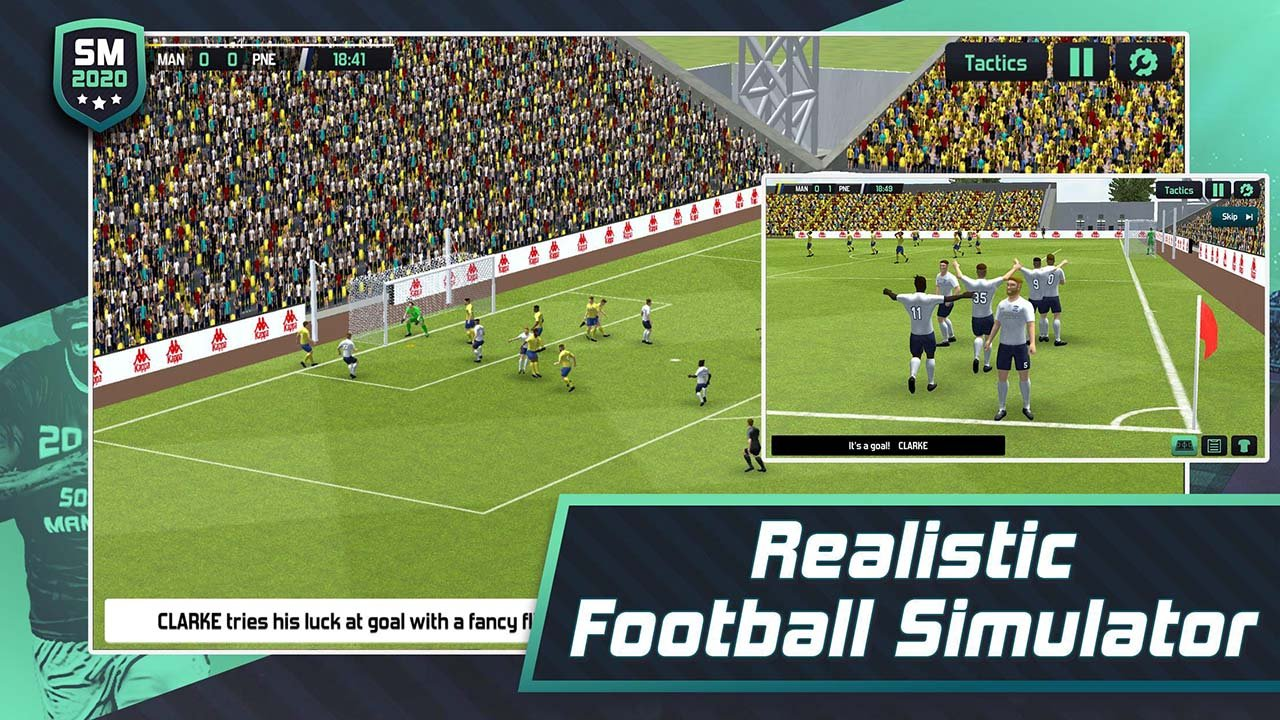 Soccer Manager 2020 screen 1