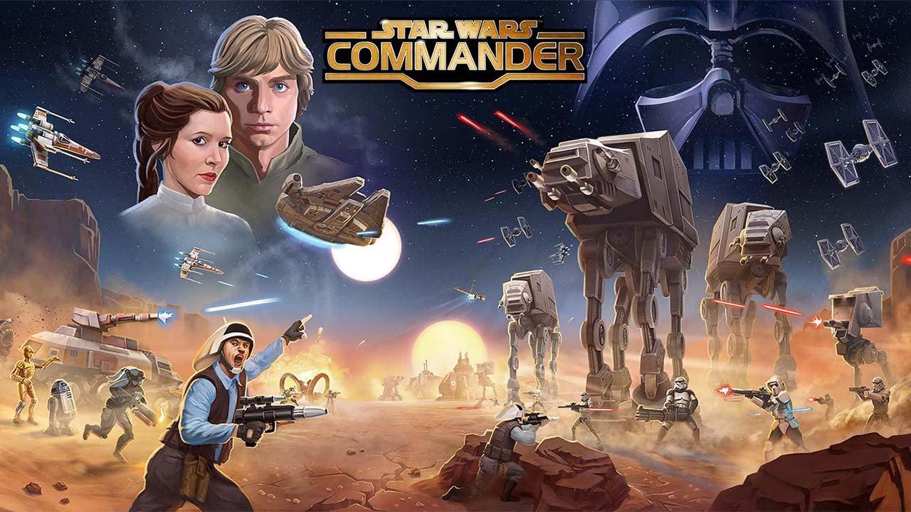 Star Wars Commander poster