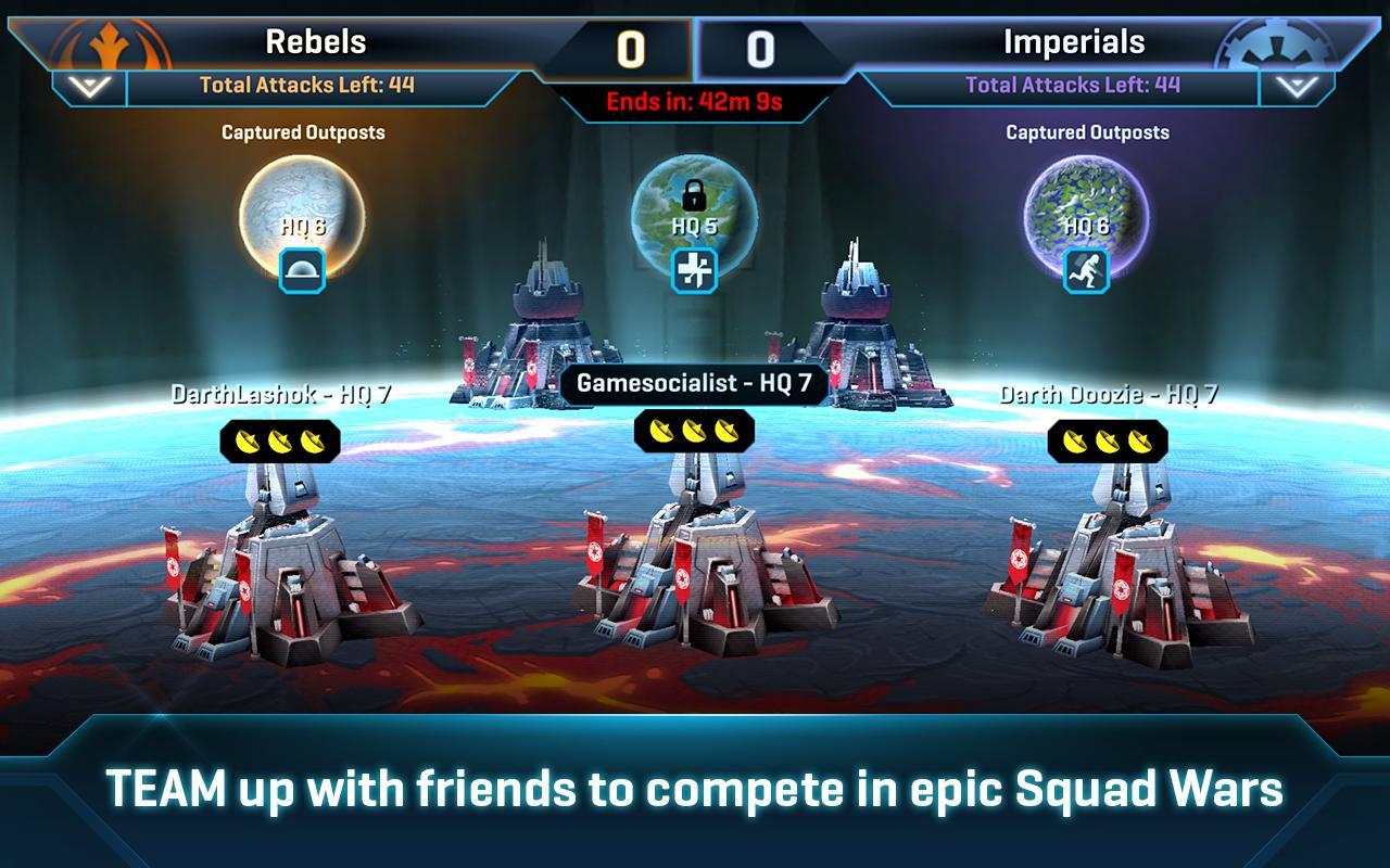 Star Wars Commander screen 1