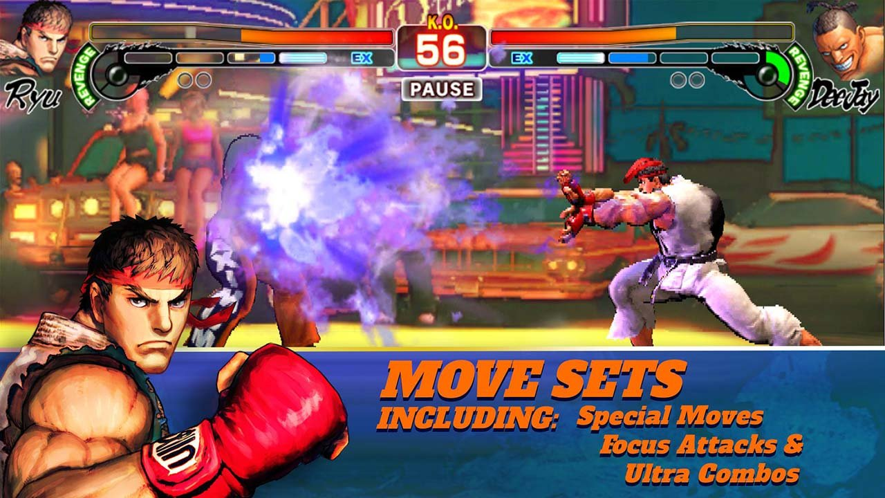 Street Fighter IV Champion Edition screen 1