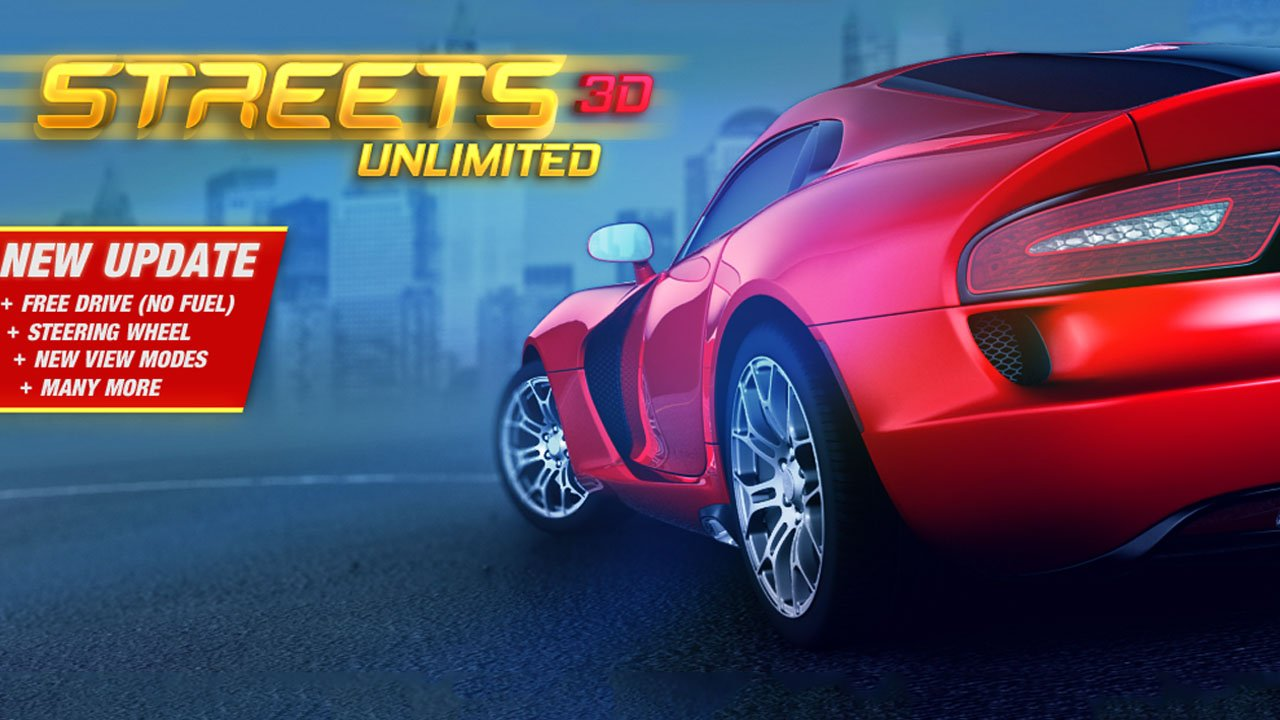 Streets Unlimited 3D poster