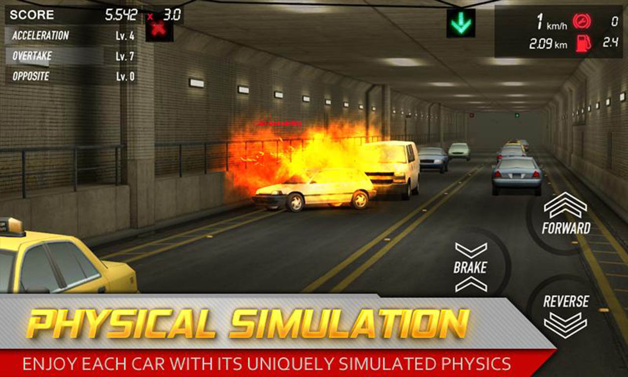 Streets Unlimited 3D screen 1