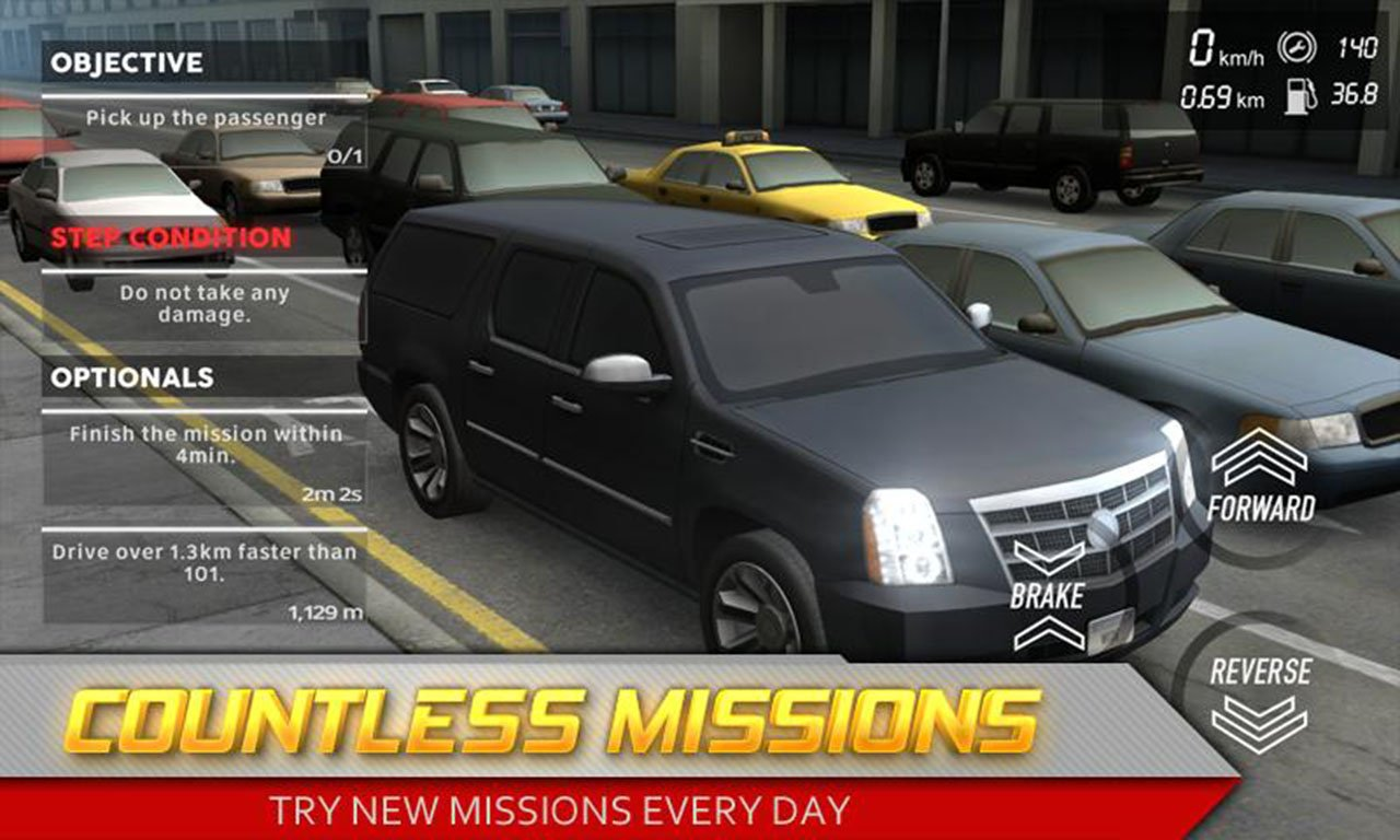 Streets Unlimited 3D screen 2