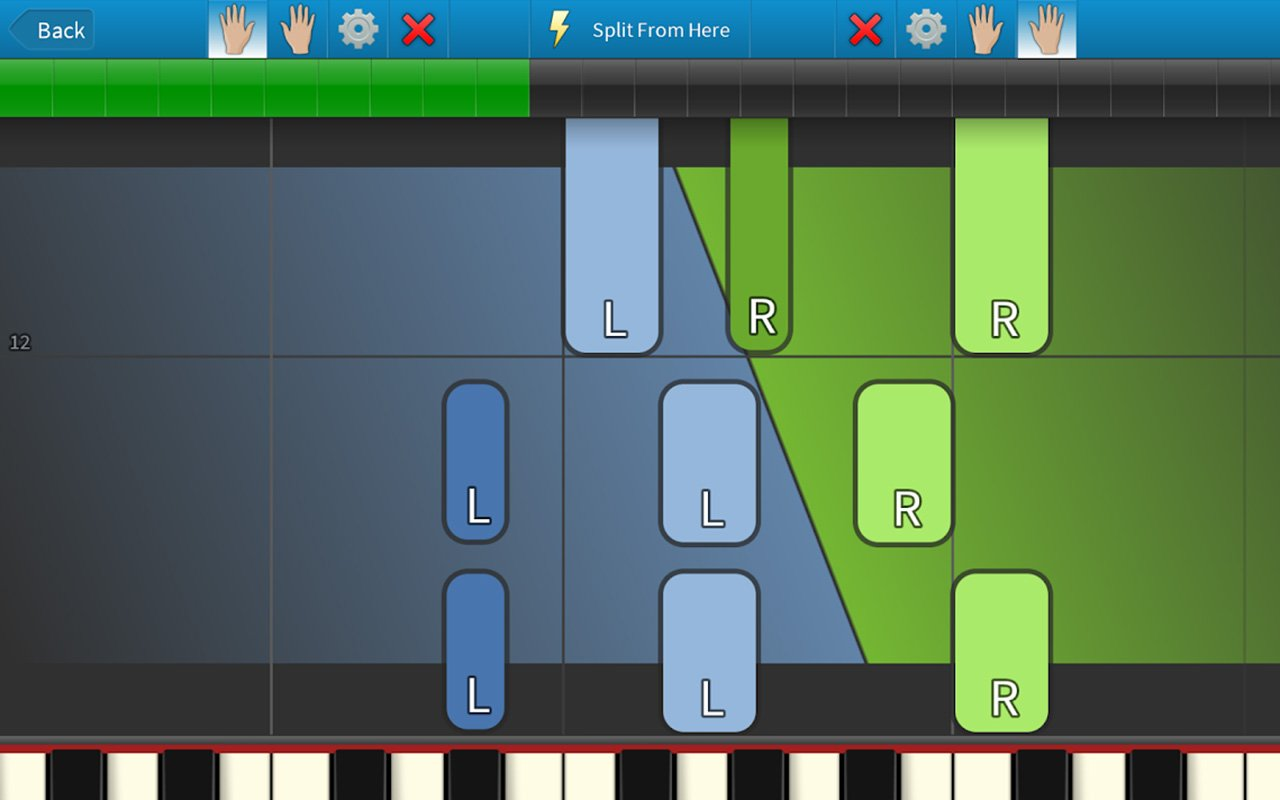 Synthesia screen 1