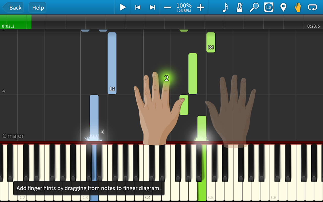 Synthesia screen 2