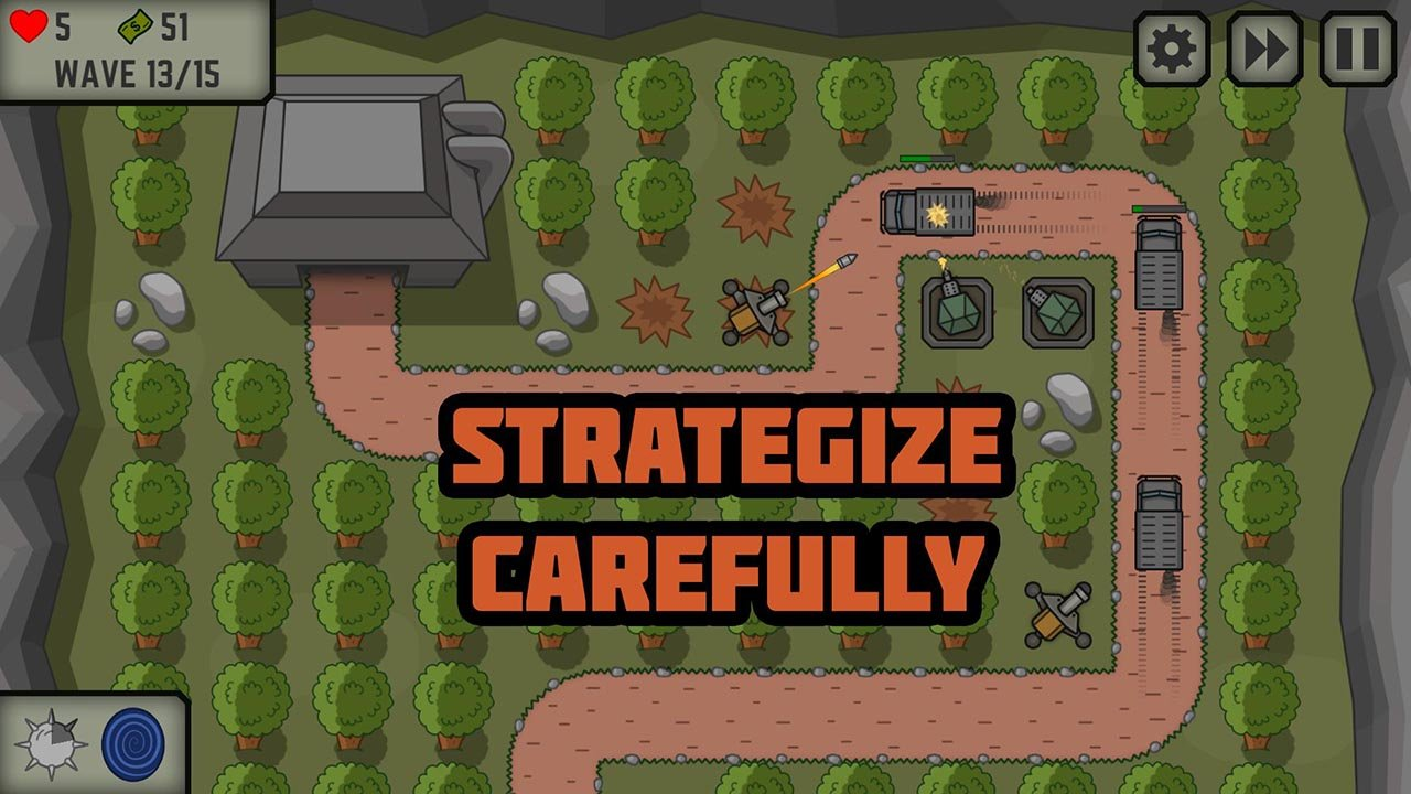 Tactical War screen 0
