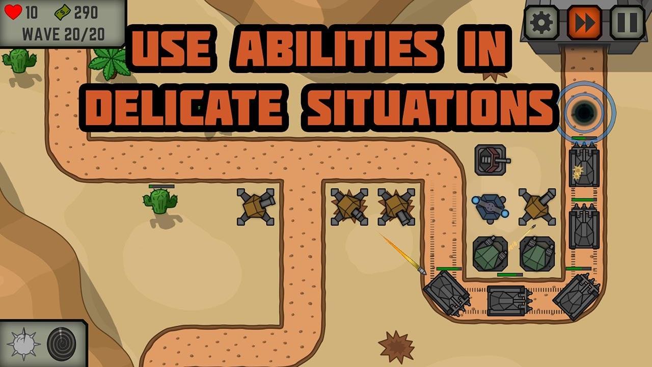 Tactical War screen 1