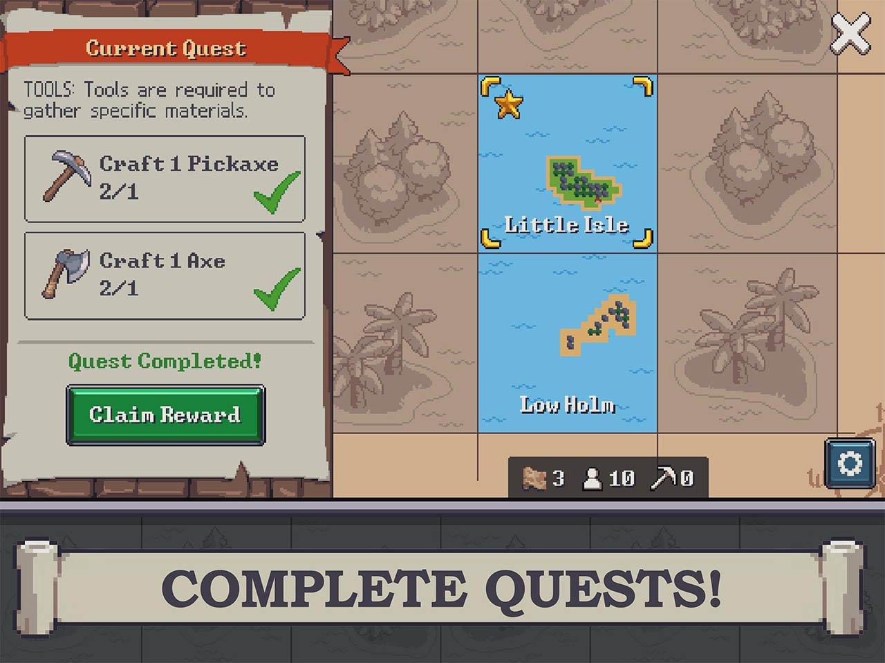 Tap Craft screen 1