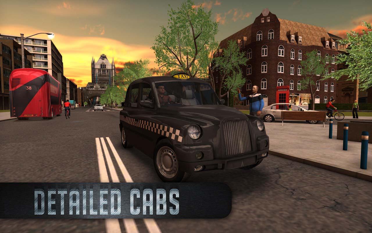 Taxi Sim 2016 screen 1