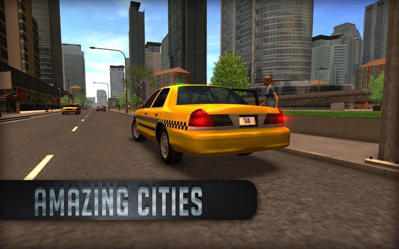 Taxi Sim 2016 screen 2