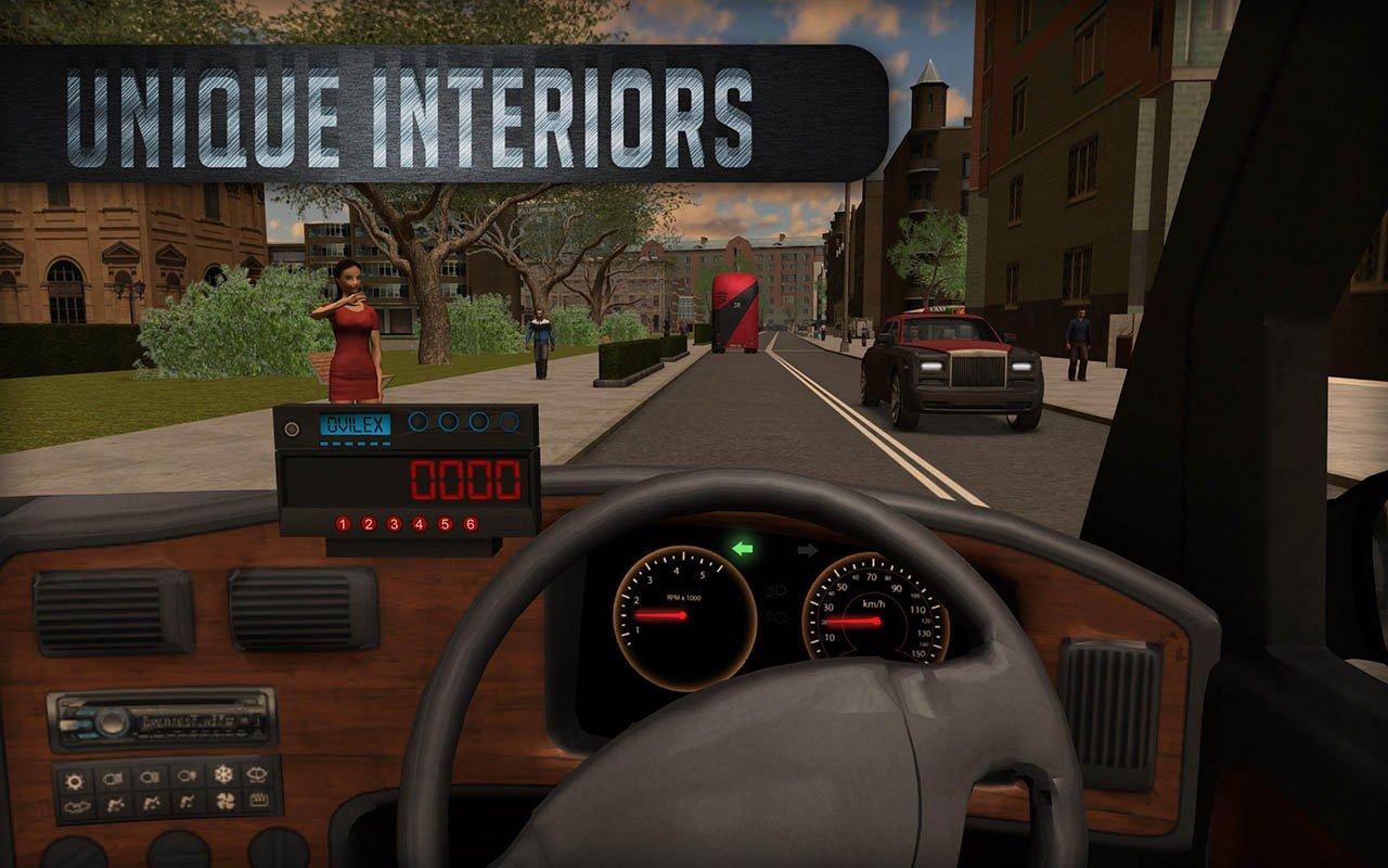 Taxi Sim 2016 screen 3