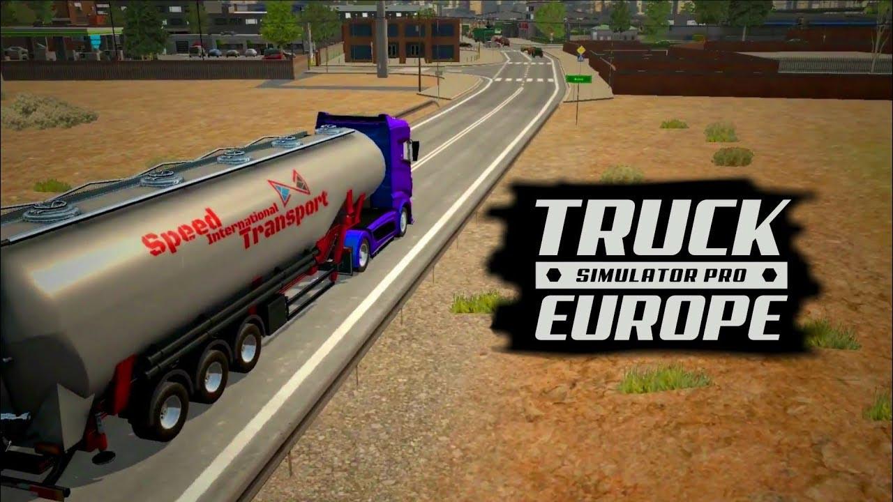 Truck Simulator PRO Europe poster