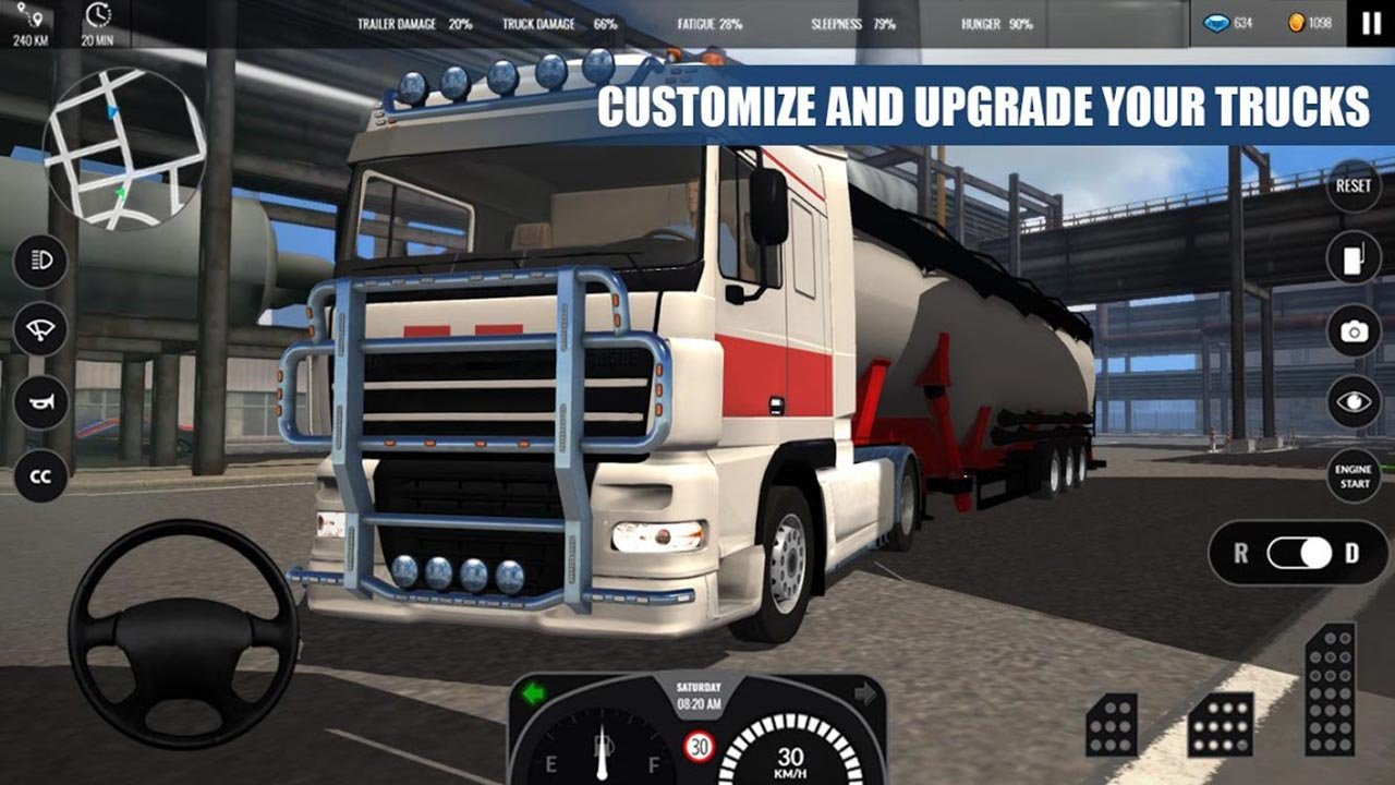 Truck Simulator PRO Europe screen 1