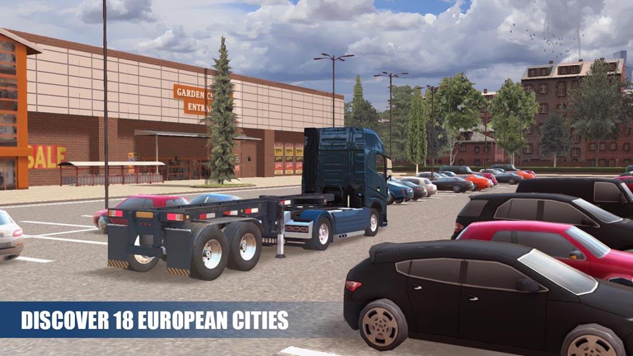 Truck Simulator PRO Europe screen 3