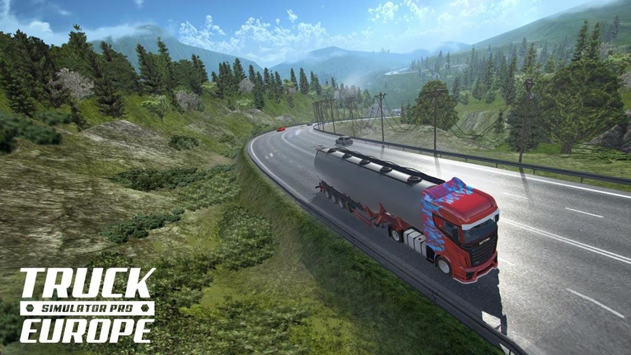 Truck Simulator PRO Europe screen 4