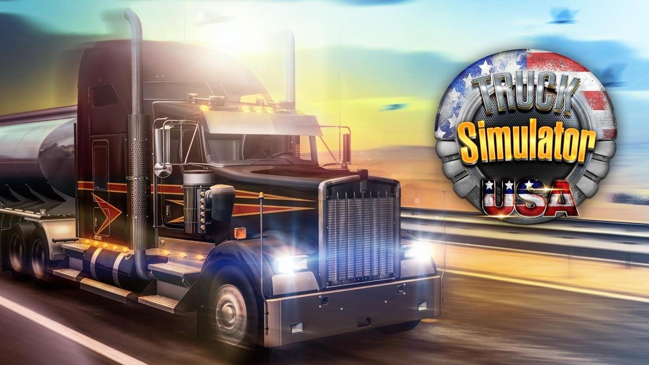 Truck Simulator USA poster