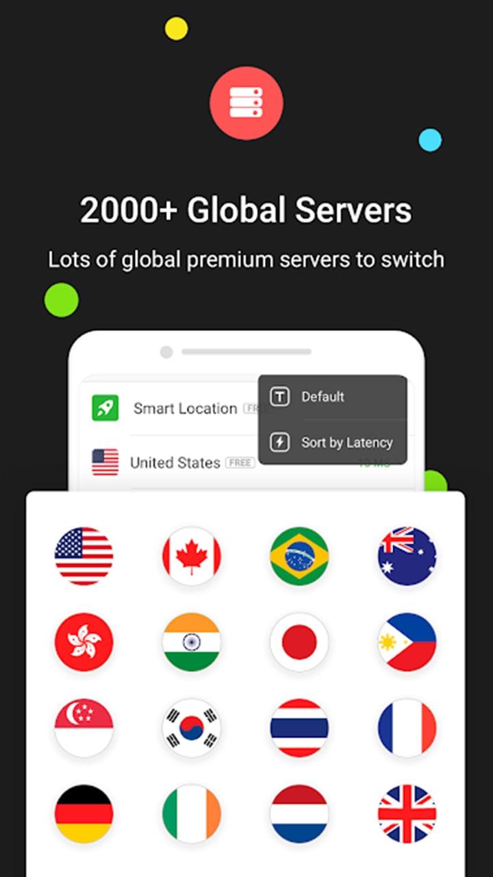 UFO VPN screen 1