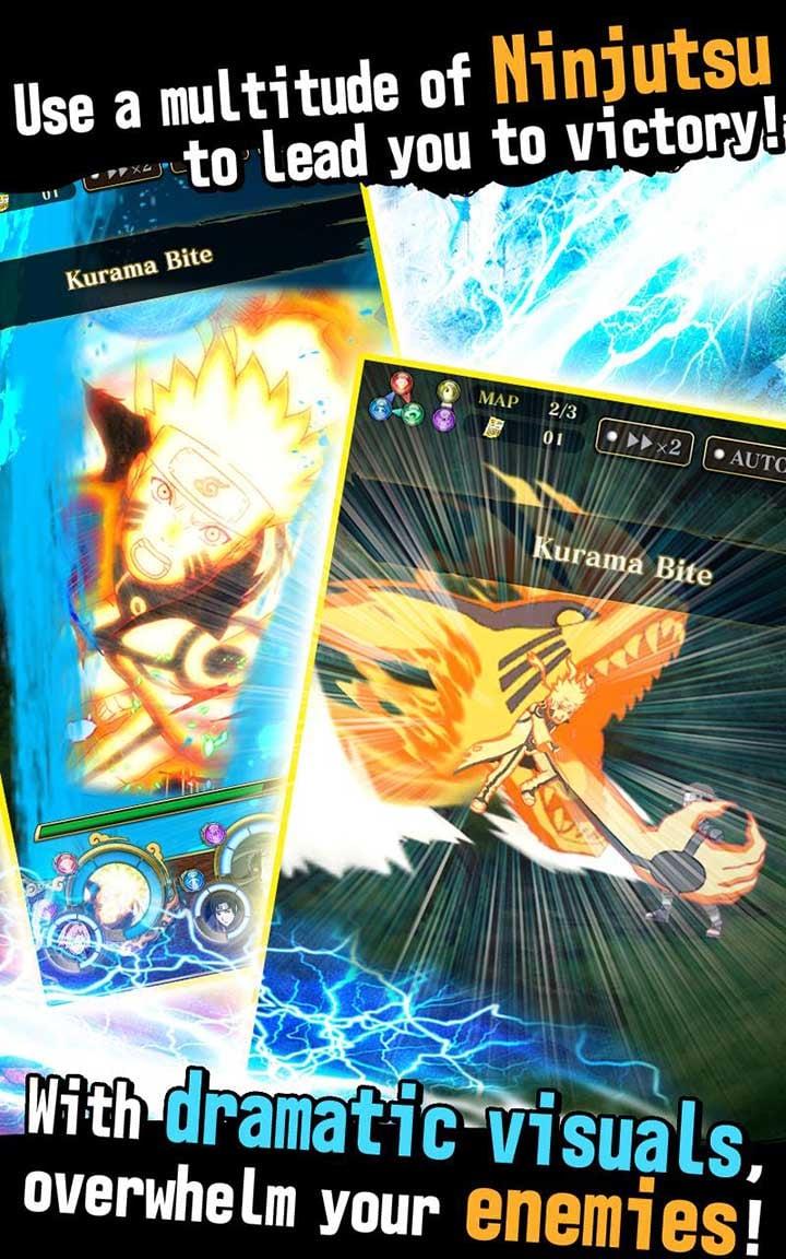 Ultimate Ninja Blazing screen 4