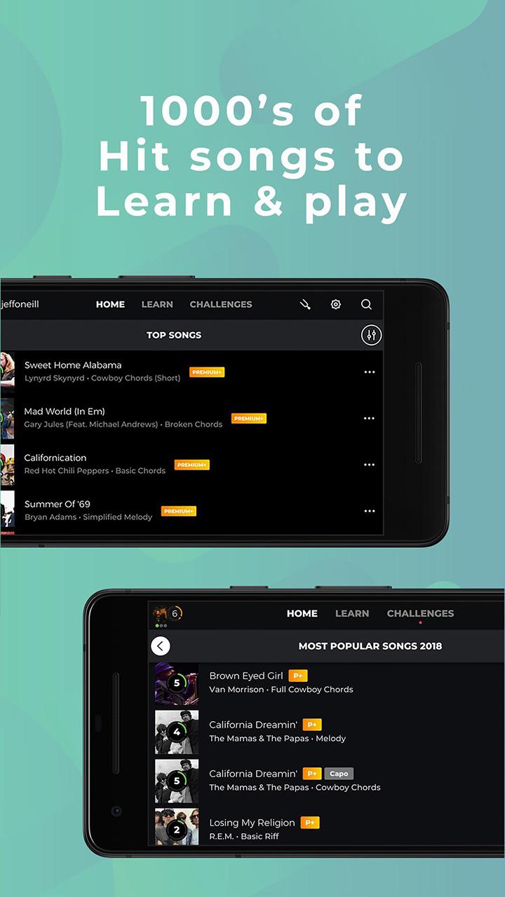Yousician screen 1