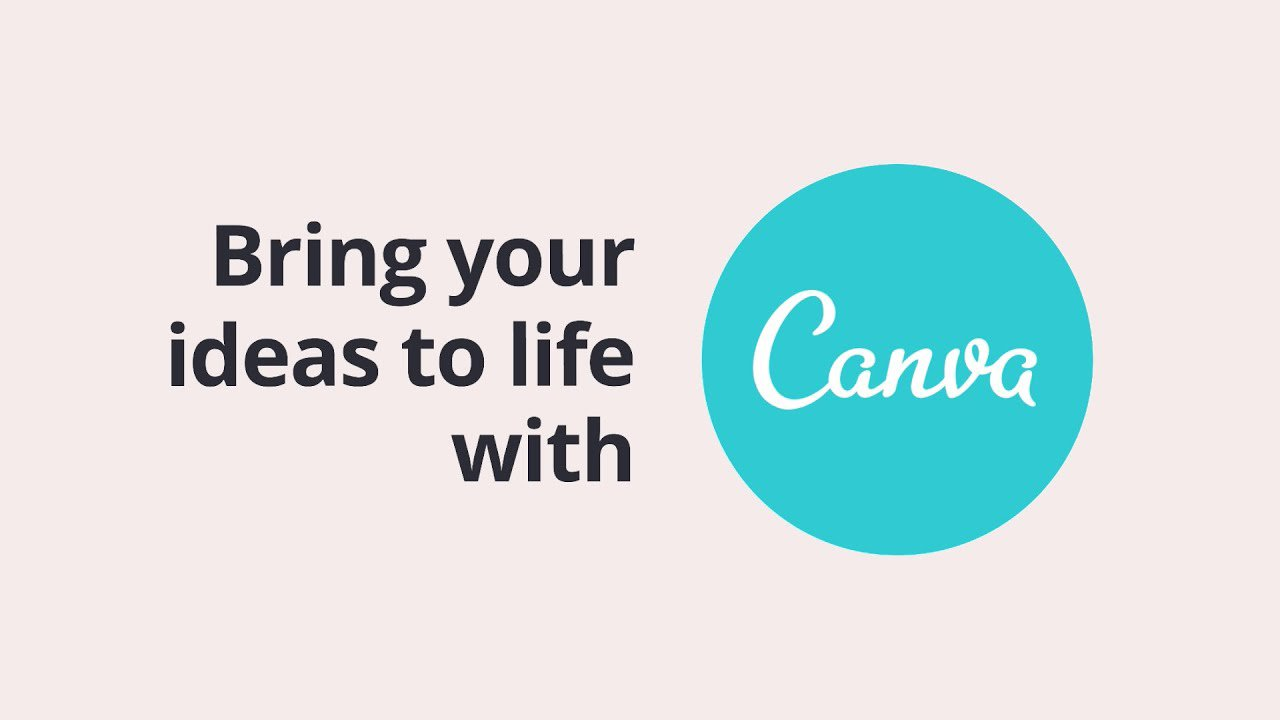 Canva app poster