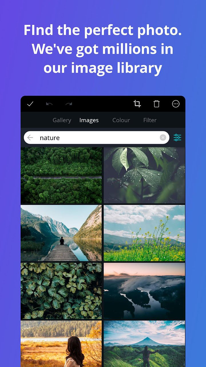 Canva app screenshot 4